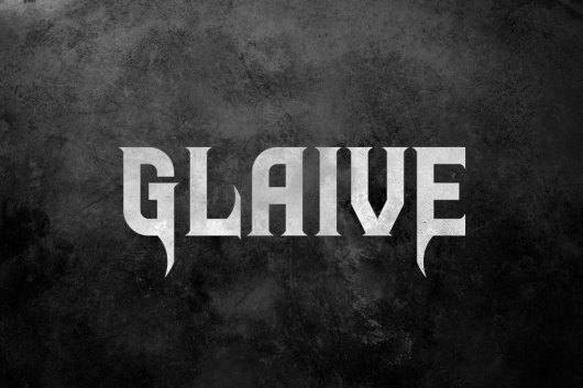 Glaive - Halloween Font