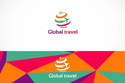 Global Travel Logo Template