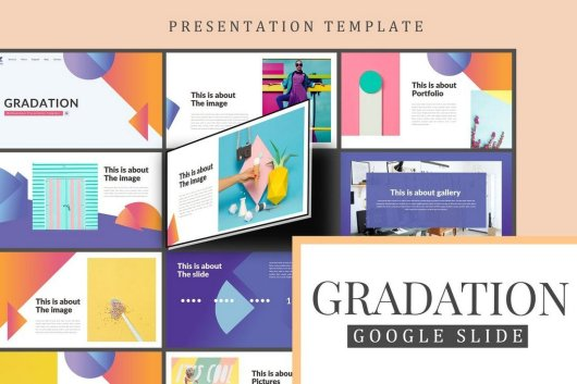 Gradation Google Slides Presentation