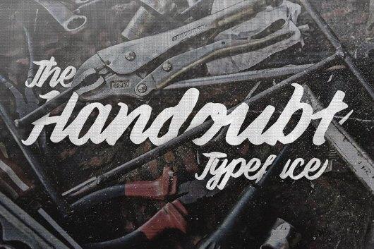 Handoubt Typeface - Creative Script Font