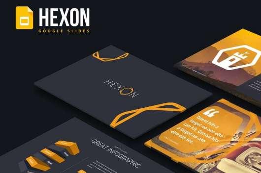Hexon - Google Slides Template