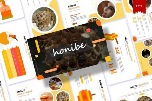 Honibe Powerpoint Template
