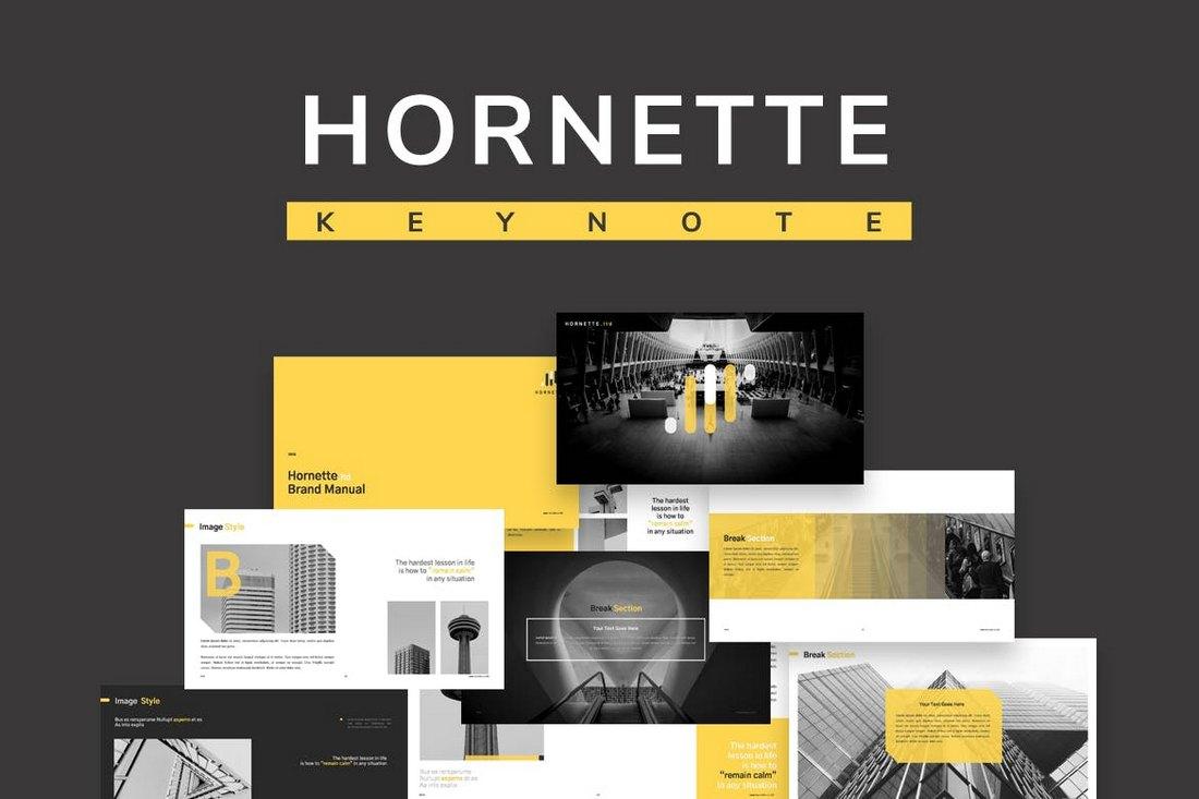 Hornette - Creative Keynote Template