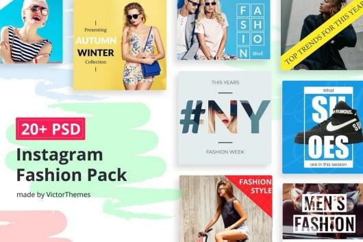 Instagram Social Media Fashion Banners