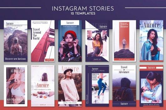 Instagram Story Template Kit