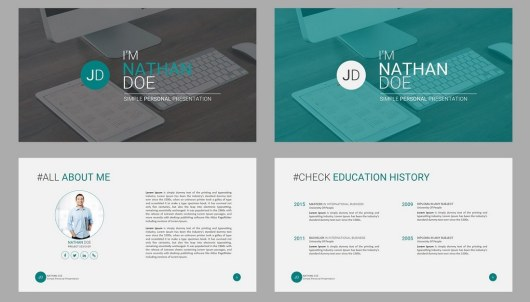 JD - Personal Powerpoint Presentation Template