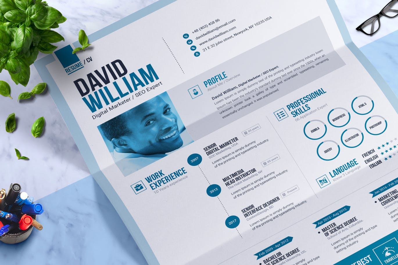 The Best CV & Resume Templates: 50 Examples 7