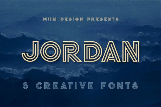 Jordan - Display Font