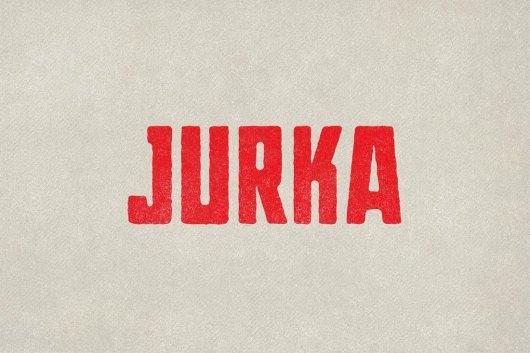 Jurka Poster Font