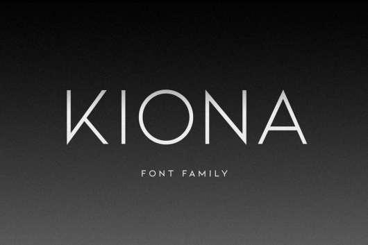 KIONA Modern Font
