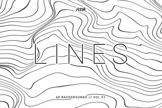 Lines - Abstract Wavy Backgrounds Vol.01