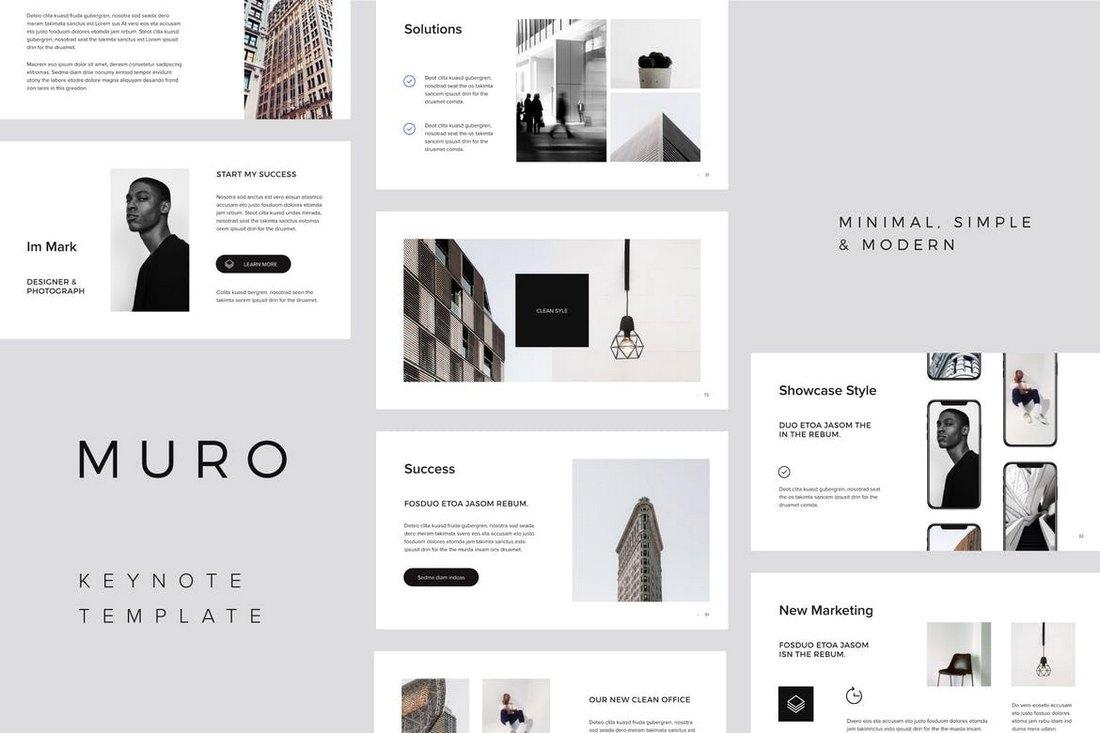 MURO - Keynote Template