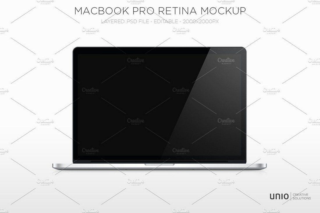 100+ MacBook PSD & Vector Mockups 50