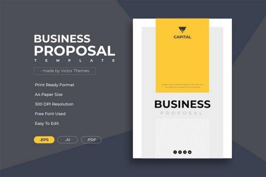 Minimal Business Proposal Template