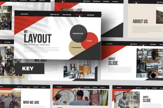Minimal Layout Keynote Template