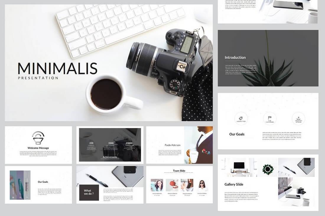 60+ Beautiful, Premium PowerPoint Presentation Templates 59