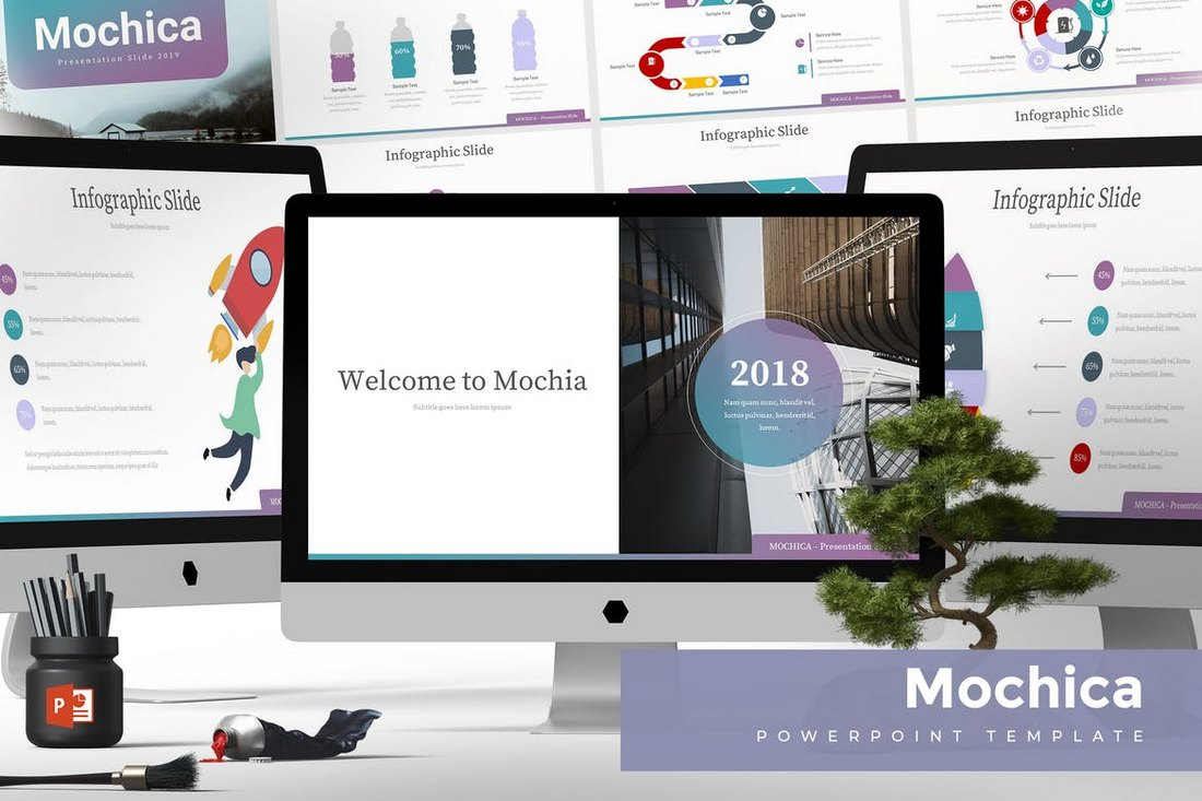 Mochica - Powerpoint Template