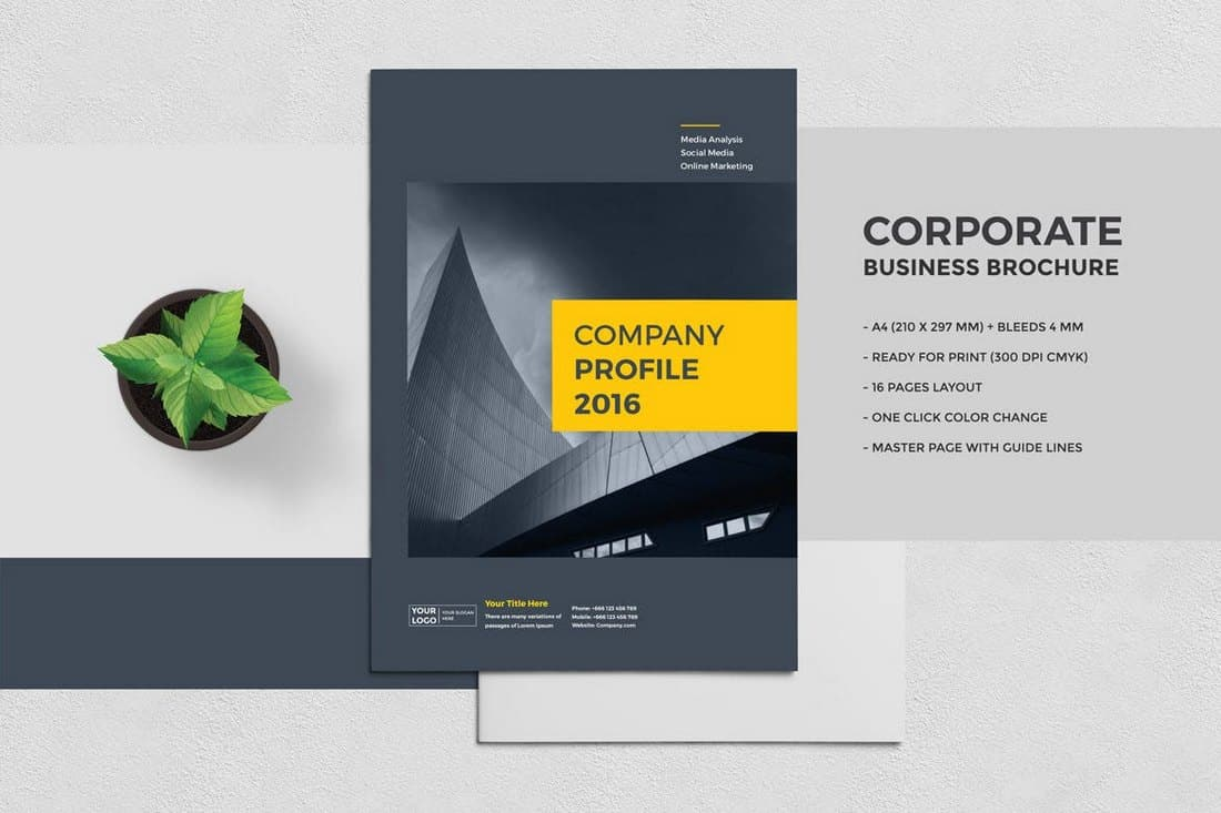 Modern Corporate Business Brochure Template