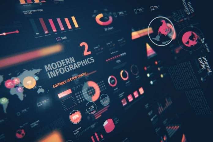 Modern Editable Infographics v02