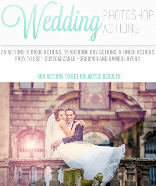 Modern Wedding Photoshop Actions