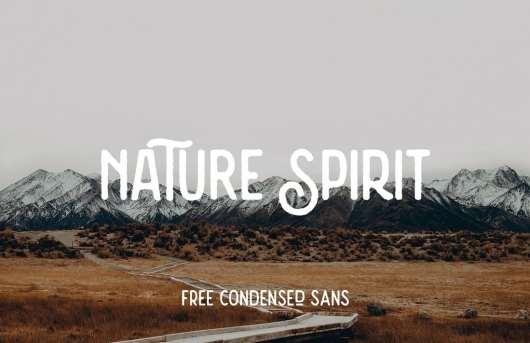 Nature Spirit - Free Vintage Font