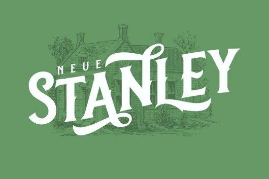 Neue Stanley - Slab Serif Font