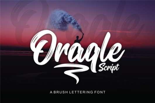 Oraqle - Free Script Font