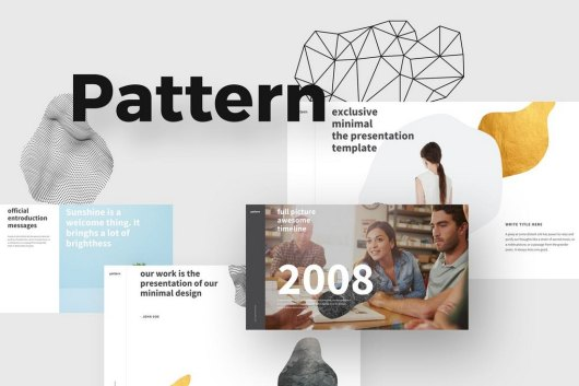 PATTERN - Modern Powerpoint Template