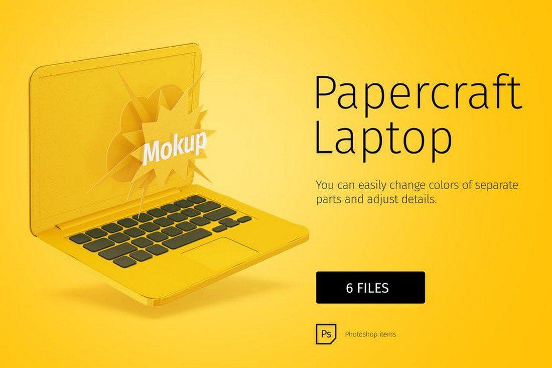100+ MacBook PSD & Vector Mockups 39