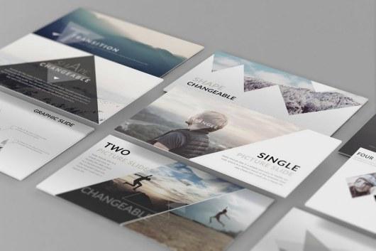 Perspective Website PSD Mockup Template