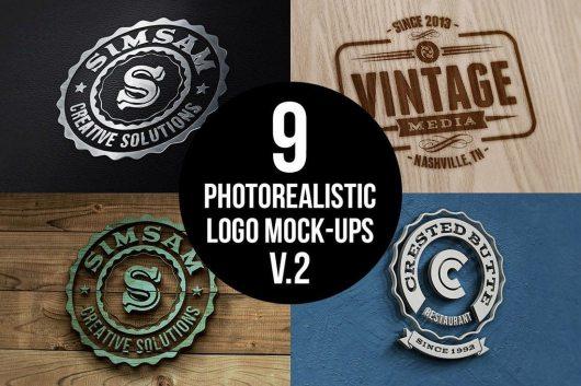 20+ Best 3D Logo Mockup Templates