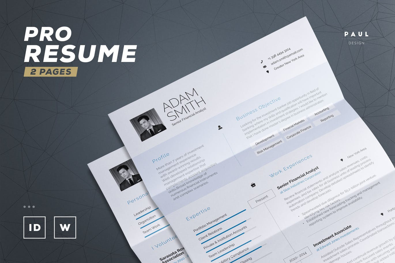 Resume Indesign 50 43 Best Cv And Resume Templates Of 2019 Design Shack