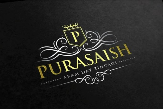 Purasaish Luxury Logo Template
