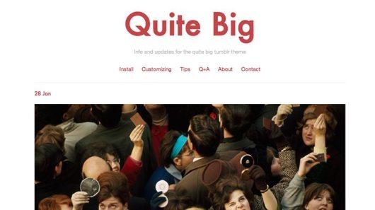 Quite-Big-Tumblr-Theme