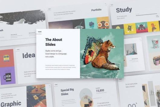 RUNDO - Minimal & Creative Template