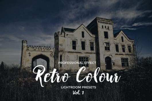 Retro Colour Lightroom Vol 1