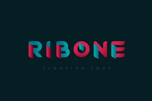 RibOne - Creative Font