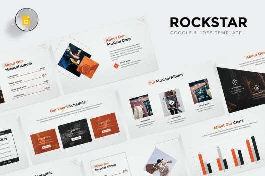 Rockstar - Google Slides Template