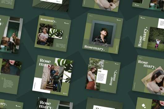 Roesmary - Social Media Templates Pack