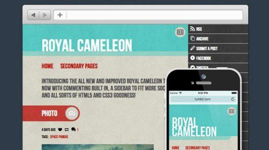Royal-Cameleon-Free-Tumblr-Theme