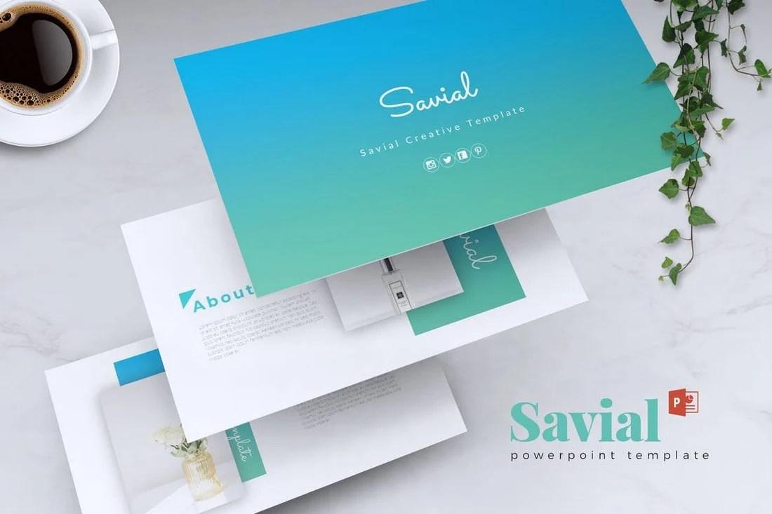 SAVIAL - Powerpoint Template