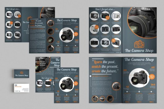Set of Brochures Stationery Templates