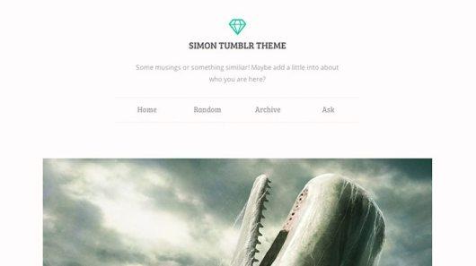 Simon-Tumblr-Theme