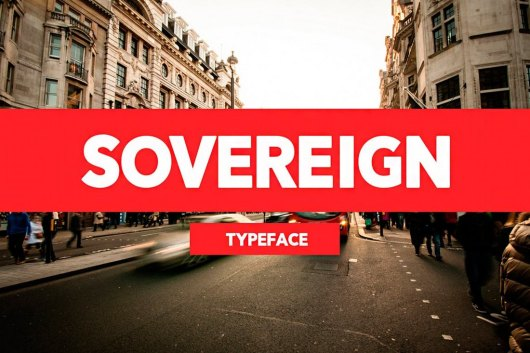 Sovereign Typeface