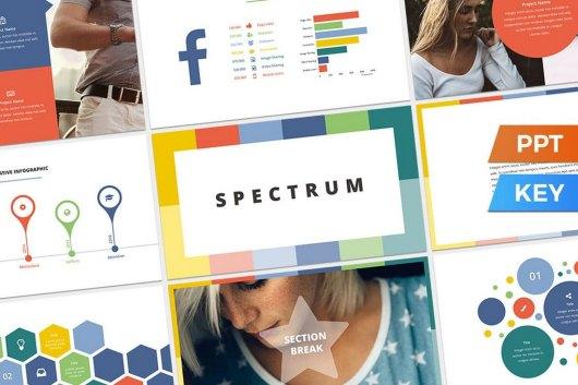 Spectrum - Colorful Presentation Template