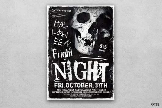 Spooky Halloween Flyer Template