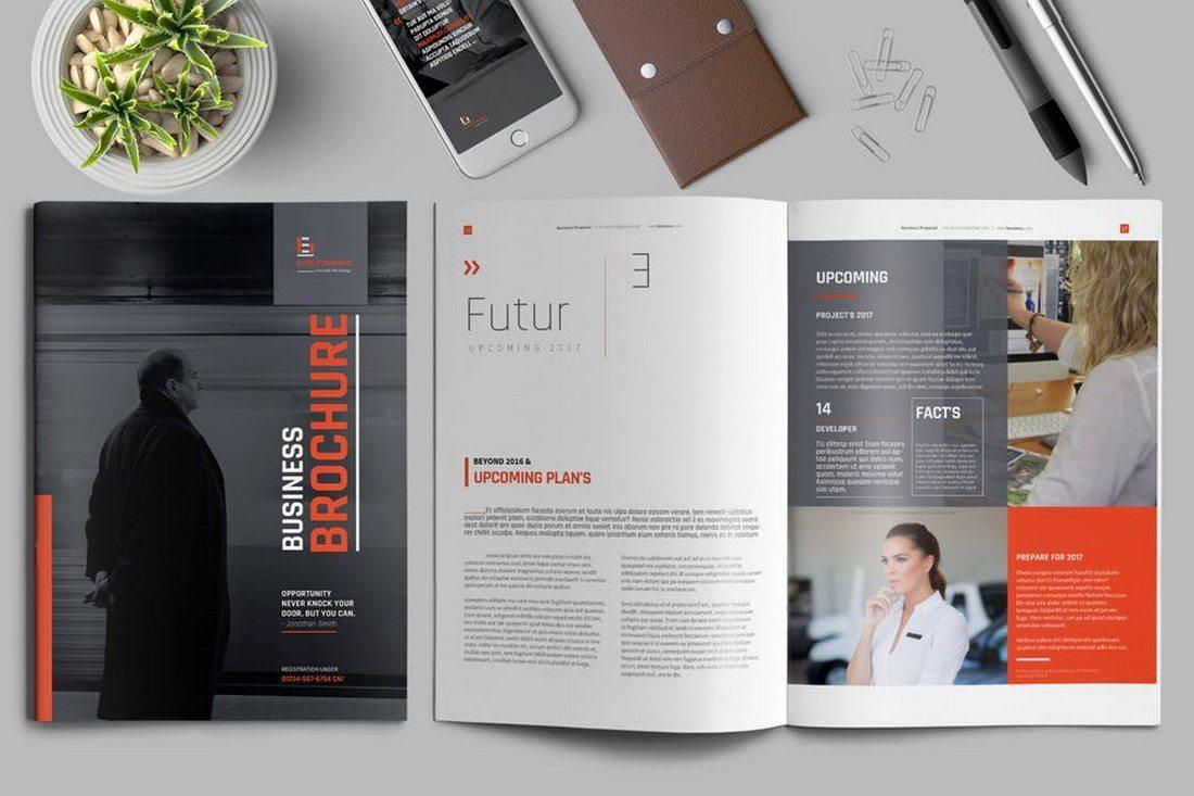 Stylish Brochure Template - 70+ Modern Corporate Brochure Templates