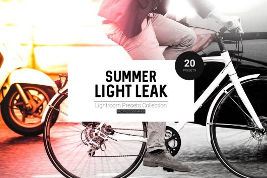 Summer Light Leak Lightroom Presets