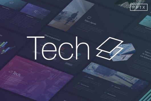 Tech - Technology Powerpoint Template
