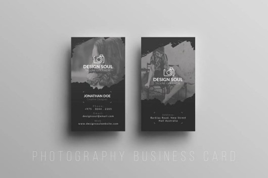 Textured Photography Business Card